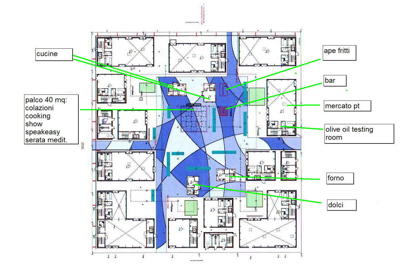 Cluster Biomediterraneo interior map